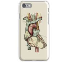 Graphic Coloured Heart iPhone Case/Skin