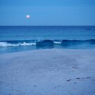 moonrise on the Bay of Fires by jayview