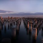 Sunset at Princes Pier by Daniel Berends