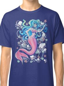 Pink Tailfin Mermaid Classic T-Shirt