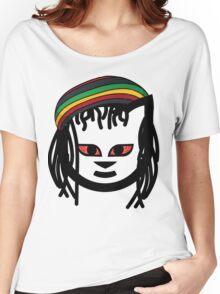 Rasta Cat Women's Relaxed Fit T-Shirt