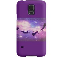 peter pan silhouettes Samsung Galaxy Case/Skin