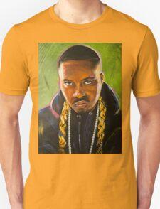 Nas Colorful Portrait Unisex T-Shirt