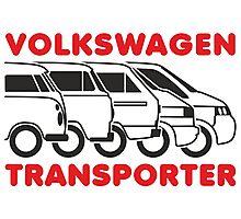 VW Transporter evolution Photographic Print