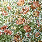 Vintage Georgian Wallpaper by Ludwig Wagner