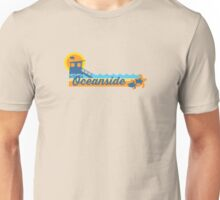 Oceanside - California. Unisex T-Shirt