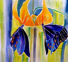EXOTIC SWALLOWTAILS 11 by Gea Austen