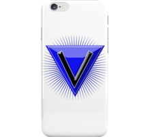 Letter Emblem - V iPhone Case/Skin