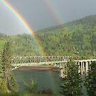 double rainbow by Amanda Huggins