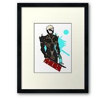 Metal Gear Rising Raiden Framed Print