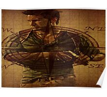 Compass of Uncharted Lands Poster