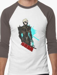 Metal Gear Rising Raiden Men's Baseball ¾ T-Shirt