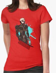 Metal Gear Rising Raiden Womens Fitted T-Shirt