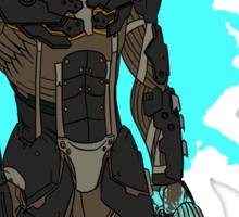 Metal Gear Rising Raiden Sticker