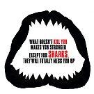 Summer Shark tshirt by INFIDEL