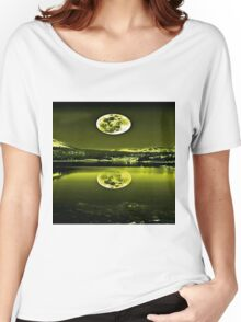 Nights Twilight Yellow Sky Women's Relaxed Fit T-Shirt