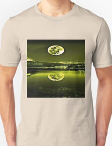 Nights Twilight Yellow Sky Unisex T-Shirt