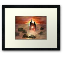 Crystal kingdom Framed Print