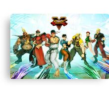 street fighter full v Canvas Print