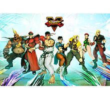 street fighter full v Photographic Print