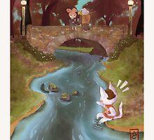 gone fishing by Amanda Castoe