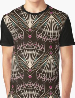 Seamless beautiful antique art deco pattern. Geometric design. Graphic T-Shirt