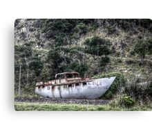 Big Boat For Sale Canvas Print