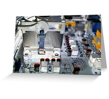Heat Sink Greeting Card