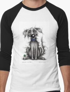 Horrible the dog Men's Baseball ¾ T-Shirt