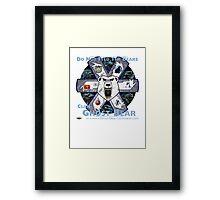 Clan Ghost Bear Recruitment Poster Q2.14 Framed Print