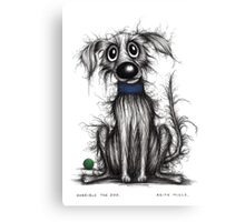 Horrible the dog Canvas Print
