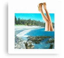 Legs. Canvas Print
