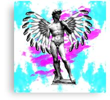 Winged David Canvas Print