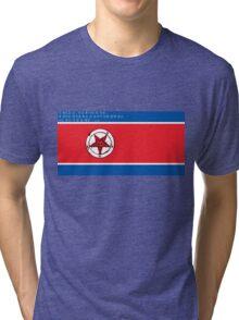 North Korea x Satan Tri-blend T-Shirt