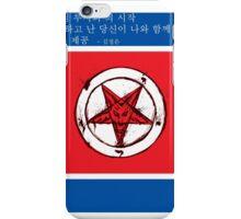 North Korea x Satan iPhone Case/Skin