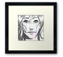 OC Character Art Framed Print