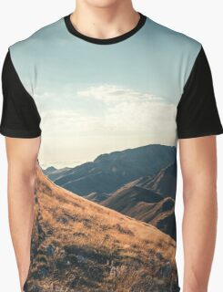 Mountains in the background XXIII Graphic T-Shirt