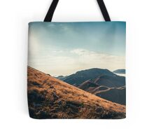Mountains in the background XXIII Tote Bag
