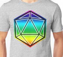 LGBT Pride D20 Unisex T-Shirt