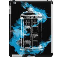Watery TARDIS iPad Case/Skin