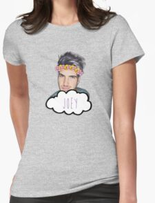 Joey Graceffa - Flowers Crown Womens Fitted T-Shirt