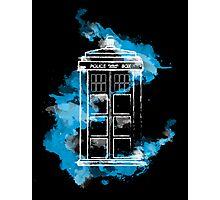 Watery TARDIS Photographic Print