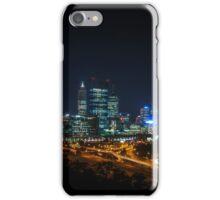 Perth City at Night iPhone Case/Skin