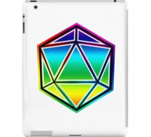 Dungeons and Dragons Pride Dice iPad Case/Skin