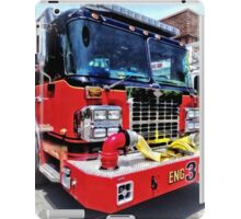 Front of Fire Truck With Hose iPad Case/Skin