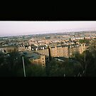 Leith from Calton Hill, Edinburgh by Mandy Kerr