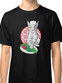 No-one but me makes the sushi (Japanese cat chef) Classic T-Shirt