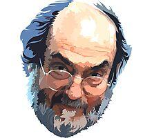 Stanley Kubrick Head Photographic Print