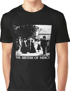 The Sisters of Mercy - The Worlds End - The Damage Done Graphic T-Shirt
