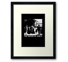 The Sisters of Mercy - The Worlds End - The Damage Done Framed Print